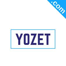 YOZET.com 5 Letter Short  .Com Catchy Brandable Premium Domain Name for Sale
