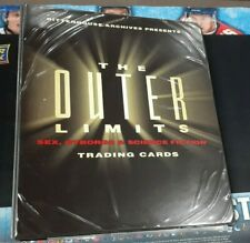 Rittenhouse The Outer Limits Cyborgs & Science Fiction Card Album Binder!