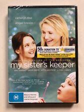 My Sister's Keeper - Cameron Diaz (DVD, 2009) Region 4- NEW & SEALED