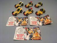 AUTOS: Satz Oldtimer Rennwagen (mit allen Varianten u. 3x BPZ) 1993