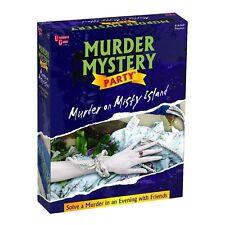 Murder on Misty Island Mystery Dinner Party Game Vtg University Games