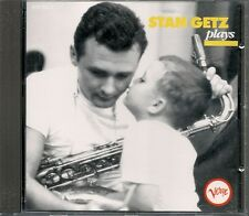 CD COMPIL 16 TITRES--STAN GETZ--STAN GETZ PLAYS...