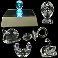 FIGURINES CRYSTAL FIGURINE COLLECTION ELEMENTS GLASS GIFT ORNAMENT IN BOX NEW