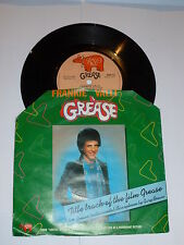 """FRANKIE VALLI - Grease - 1978 South Africa 7"""" vinyl single (With Sleeve)"""