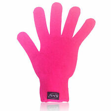 MyProStyler Hot Pink Heat Resistant GLOVE for Hair Curling & Flat Irons With Bag