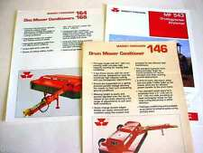 Massey Ferguson Mower Conditioners & Airplanter, 1988+, 8 Pages, Brochure #