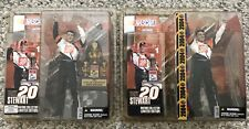 Lot 2 McFarlane Action Figure Nascar Tony Stewart Hobby No Hat Version & Nextel 00004000