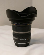 Canon EF-S 10-22 Lens with hood