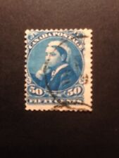 Canada 1893 SG 116 50c QV Blue Very Fine Used