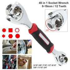 48 IN 1 360° Multi-Function Universal Wrench Handy Adjusted Tool Socket Spanner