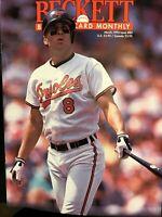 Beckett Baseball Card Monthly March 1992 Issue #84 Cal Ripken Jr.