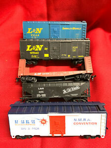 Athearn 1974 NMRA Convention Display Models lot of 15  HO Freight Cars L&N B&O