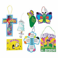 Religious Easter Craft Kit Assortment - Craft Kits - 84 Pieces