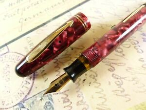 Burgundy Parker Parkette Fountain Pen restored