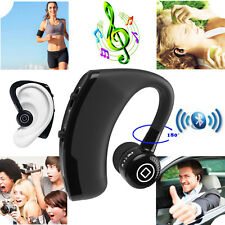 Bluetooth Headphone w/ Mic Wireless Headset for Cell Phone Samsung Motorola E G