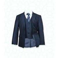 BOYS FORMAL 5 PIECE SUITS PAGE BOY PROM WEDDING SUIT IN GREY, BROWN AGE 1 TO 15