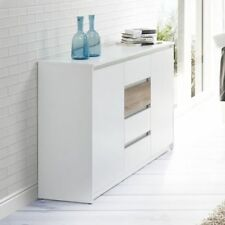White Sideboards with 4 Drawers