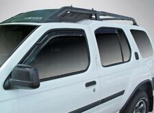 In-Channel Wind Deflectors for a 2000-2004 Nissan Xterra