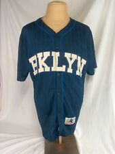 Brooklyn Cyclones Baseball Classics 15 Seasons Mens Blue XL Jersey