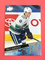 Olli Juolevi 2020-21 Upper Deck Series 1 #222 Young Guns Rookie - Canucks RC