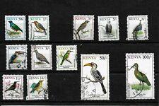 Kenya 1993 Birds almost complete set used (K001)