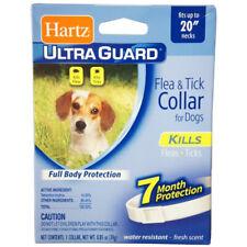 HARTZ - Ultra Guard Flea & Tick Collar for Dogs White - 23 Inch