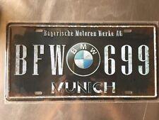 BFW 699 Vintage Metal Car Decorative License Plate United States Home Decor