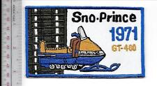 Snowmobile Sno-Prince Lionel Industries Model GT-400 1971 Dealer Promo Princevil