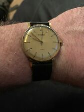 VINTAGE GENTS GOLD PLATED SEKONDA 2 TONE DIAL MECHANICAL WATCH
