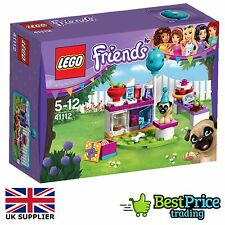 Lego Friends 41112 Party Cakes *BRAND NEW & SEALED *Pug Dog