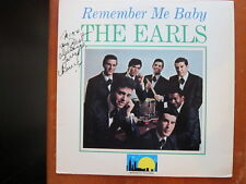 EARLS Remember me Baby lp  AUTOGRAPHED
