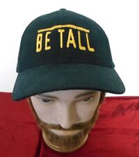 BE TALL Black Embroidered Snapback Adjustable Trucker Hat Cap
