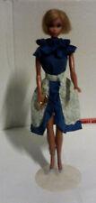 Barbie - Abito casual anni 80 - blusa e gonna volant + borsa + scarpe - Vestito