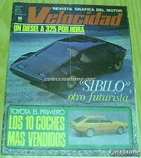 VELOCIDAD 871 Portada LANCIA SIBILO 1978 EMILIO DE VILLOTA RICARDO TORMO