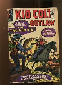 KID COLT OUTLAW #125 (4.0) DAY OF THE GUNSLINGERS! 1965