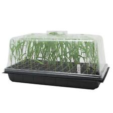 """10"""" x 20"""" Seed Starter Kit Starting Plant Propagation Cloning Tray Tall 7'' Dome"""