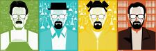 Breaking Bad 1 2 3 4 5 6 Fabric Art Cloth Poster 40inch x 13inch Decor 56