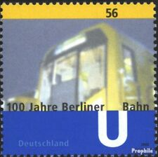 BRD (BR.Duitsland) 2242 postfris 2002 Berlijn u-Trainen