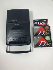 Sony TCM 929 Cassette Recorder Portable Tape Recorder Player Auto Shut Off Works