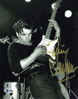 JIMMIE VAUGHAN SIGNED AUTOGRAPHED 8x10 PHOTO BLUES GUITAR LEGEND BECKETT BAS