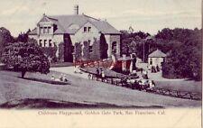 pre-1907 CHILDRENS PLAYGROUND, GOLDEN GATE PARK, SAN FRANCISCO, CAL.