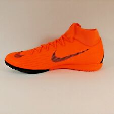 Nike Mercurial SuperflyX Superfly 6 Academy IC Orange Indoor Cleats Boots Sz 11