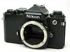 *As Is* Nikon FE 35mm SLR Film Camera Body Only *Working* #is023c