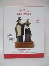Hallmark NEW Harry Potter 2014 The Sorting Hat MAGIC Ornament