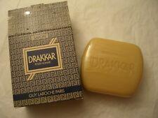 DRAKKAR GUY LAROCHE Paris OUTLET  SAVON PARFUME 150 gr each SOAP-SEIFE RARE