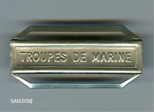 FRANCE MILITARY CIVILIAN FRENCH MEDAL - CLASP -  TROUPES DE MARINE BAR