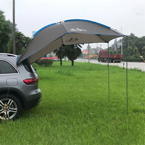 Anti UV Outdoor Camping Beach Travelling Car Trunk Roof Top Awning Tent Canopy