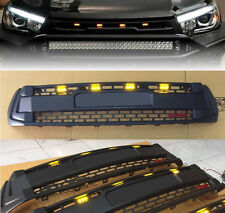 Front Black Grille White TOYOTA font 4 LED Toyota Hilux Revo M70 M80 15 16 17