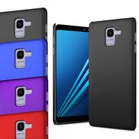 For Samsung Galaxy A8 2018 A530F - Slim Thin Hybrid Hard Case Cover & Screen