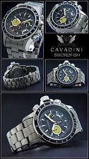 FULL TITANIUM CHRONO Swordfish/Cavadini Sportmodel Action indicating.